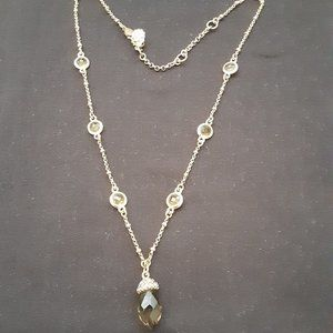 $5 SALE !!!    Amber stone necklace